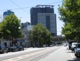 South Melbourne / Clarendon Street area and commercial centre / View north along Clarendon St towards Market St