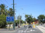 South Melbourne / Clarendon Street area and commercial centre / View south along Clarendon St towards Albert Rd
