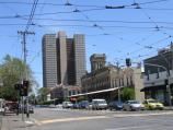 South Melbourne / Park Street area / View west along Park St at Clarendon St