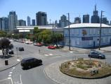 South Melbourne / Around South Melbourne Market - York Street and Cecil Street / View north along Cecil St at York St