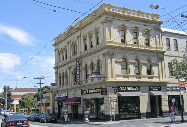 Hotel Claremont, South Yarra