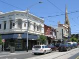 South Yarra / Shops along Toorak Road / View west along Toorak Rd at Ralston St