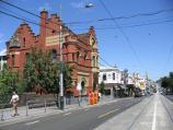 South Yarra / Shops along Toorak Road / View west along Toorak Rd towards old South Yarra post office and Osborne St