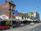 South Yarra / Commercial Road and Malvern Road / View west along Commercial Rd towards Izett St