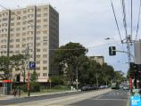 South Yarra / Commercial Road and Malvern Road / View east along Malvern Rd at Bray St towards apartment buildings
