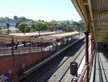 South Yarra / South Yarra railway station, Toorak Road / View down to platforms