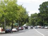 South Yarra / Toorak Road west of Punt Road / View east along Toorak Rd at Adams St