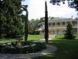 South Yarra / Como House, Williams Road / Como House and fountain