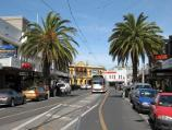 St Kilda / Acland Street shops / View south-east along Acland St towards Barkly St