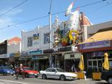 St Kilda / Acland Street shops / Shops along west side of Acland St north of Barkly St