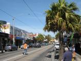 St Kilda / Acland Street shops / View south-east along Acland St south of Belford St