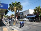 St Kilda / Acland Street shops / View south-east along Acland St at Belford St