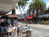 St Kilda / Acland Street shops / View south-east along Acland St at Shakespeare Gv