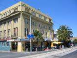 St Kilda / Acland Street shops / St Kilda Memorial Hall, corner Acland St and Albert St