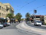 St Kilda / Acland Street shops / View south-east along Acland St towards Albert St