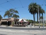 St Kilda / Acland Street shops / Vineyard Restaurant, corner Acland St and Shakespeare Gv