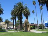 St Kilda / O'Donnell Gardens, The Esplanade / View through gardens towards Shakespeare Gv