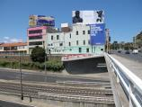St Kilda / St Kilda Junction / View south along Punt Rd over Dandenong Rd