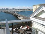 St Kilda / St Kilda Pier and St Kilda Harbour / View along northern arm of pier from kiosk