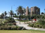 St Kilda / St Kilda Beach, Brooks Jetty and foreshore gardens / Foreshore gardens near St Kilda Sea Baths