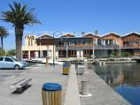St Kilda / St Kilda Marina / View along southern end of marina