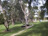 Swan Hill / Murray River and Riverside Park / View along Riverside Park from near bridge