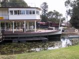 Swan Hill / Pioneer Settlement / Paddle steamer at entrance