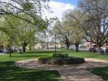 Traralgon / Kay Street area / View east along gardens in centre of Kay St between Franklin St and Church St