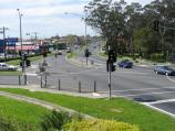Traralgon / Around town / View east along Princes Hwy towards Breed St