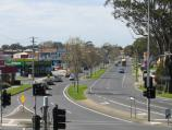 Traralgon / Around town / View east along Princes Hwy at Breed St