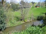 Traralgon / Around town / View south across Traralgon Creek towards Princes Hwy
