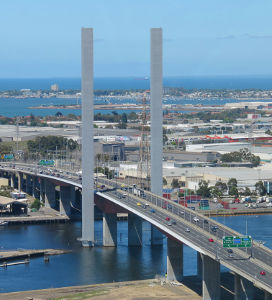 Bolte Bridge, Docklands