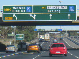 M1 West Gate Freeway