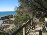 Walkerville / Cliff top walking track south of Walkerville South boat ramp / View south along walking track