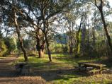 Wandiligong / The Diggings, off Centenary Avenue / BBQ and picnic groups at car park