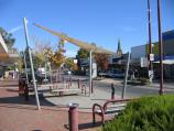 Wangaratta / Commercial centre and shops / View south-west along Murphy St at Ely St