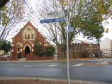 Wangaratta / Cultural precinct, Ford Street and Ovens Street / Baptist Church, corner Docker St and Baker St