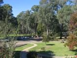 Wangaratta / Merriwa Park / View down into Merriwa Park from Ryley St