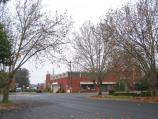 Wangaratta / Around town / TAFE College, view north along Mackay St at Cusack St