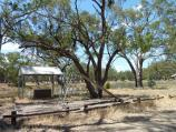Warracknabeal / Recreation area, west side of Yarriambiack Creek near boat ramp / View east across creek towards BBQ shelter