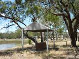 Warracknabeal / Recreation area, west side of Yarriambiack Creek near boat ramp / View south-east along creek at BBQ shelter