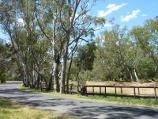 Warracknabeal / Boardwalk along Yarriambiack Creek, Craig Avenue east of Coral Avenue / View east along Craig Av at boardwalk
