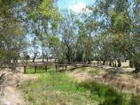 Warracknabeal / Yarriambiack Creek at Dimboola Road bridge / View north along creek from Dimboola Rd bridge