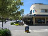 Warragul / Commercial centre and shops / View north along Smith St at Williams St