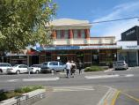 Warragul / Commercial centre and shops / View west across Victoria St between Smith St and Napier St