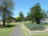Werribee / Kelly Park, Cherry Street and Synnot Street / Southerly view through park beside Synnot St Extension