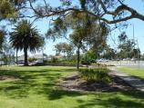 Werribee / Kelly Park, Cherry Street and Synnot Street / View of park at corner of Synnot St and Cherry St