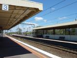 Werribee / Werribee railway station, Comben Drive / View south-west along station platform