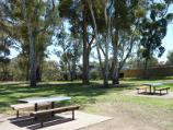 Werribee / Chirnside Park, Watton Street / Picnic tables near playground on eastern side of oval