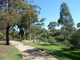 Werribee / Chirnside Park, Watton Street / Pathway along northern side of oval fronting Werribee River